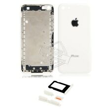 Back Rear  Housing Battery Door Cover for iPhone 5C + Side Keys + SIM Card Tray