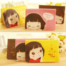 """Cookie Girl"" 12 Slots Cute Id Name Credit Card Holder Case Pouch NEW LI"