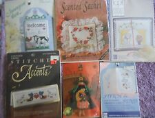 CHOOSE ONE: DESIGNS FOR THE NEEDLE COUNTED CROSS STITCH KITS Witch/Card/Novelty