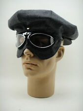 NEW CAP AVIATOR GOGGLES Pilot Driving Racer Car Motorcycle Aviation Motoring VTG