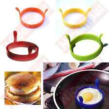 pancake Egg Ring Silicone Non Stick baking Kitchen bake ware 6 colours owl shape