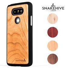 Snakehive® LG G5 Natural Wooden Real Wood Grain Back Case Cover