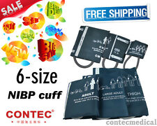 New NIBP CUFFS pediatric/Adult for CONTEC Patient Monitor/Blood Pressure Monitor