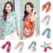 Butterfly Chiffon Women Ladies Scarf Neck Shawl Scarf Scarves Wrap Stole new   X