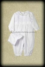 NWT Boys Knicker and Bonnet Petit Ami  Baptism LDS Blessing Long