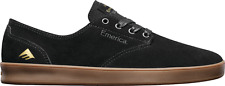 EMERICA THE ROMERO LACED BLACK GUM MENS SKATEBOARD SHOES FREE POST AUSTRALIA