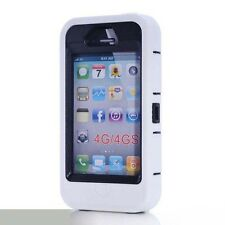 Shockproof Hard Plastic Armor Hybrid Protection Silicone Case For iphone 4/4S He