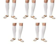 Compression Copper Support Socks 20-30mmHg Graduated Men's Women's 5 Pair Sm/Med
