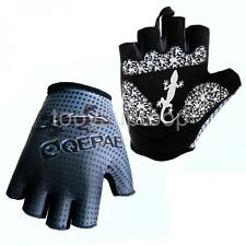 Outdoor Road Cycling Bike Half Finger Gloves Breathable Sports Riding Mitts