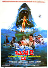 Jaws 1975 Horror/Drama Steven Spielberg (Thailand) Movie POSTER