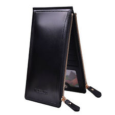 Hot Men Women 16 Card ID Credit Card Holder PU Leather Pocket Case Purse Wallet