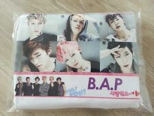 B.A.P Photo Printed White Color Short Sleeve Kpop tshirts for Free Size