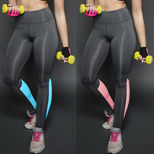 Women Yoga Running Pant High Waist Trousers Leggings Fitness Gym Clothes Workout