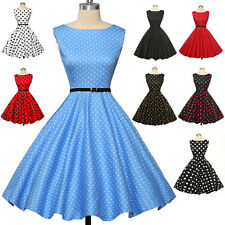 Vintage 40s 50s 60s Ball Gown Dress Swing Retro Pinup Cocktail Evening Plus Size