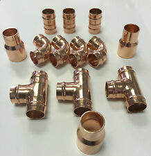 15mm Copper Solder Ring Yorkshire Plumbing Fittings all  Pack of 25