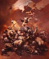 The Destroyer Print Art by Frank Frazetta