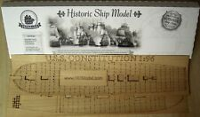 USS Constitution - wood deck for model by Revell, 1:96