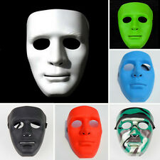 Hip Hop Masks Plastic Halloween Masquerade Party Mask Costume Accessory Dance