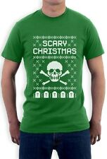 Ugly Christmas Sweater - Skull Scary Christmas Cool T-Shirt Gift Idea