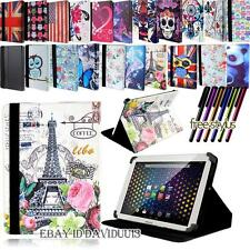 NEW FOLIO FOLDING LEATHER STAND COVER CASE For Various ARCHOS 80 Models Tablet