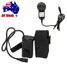 AU 20000/16000 mAh Rechargeable 8.4v battery Pack +Charger For Bicycle Light
