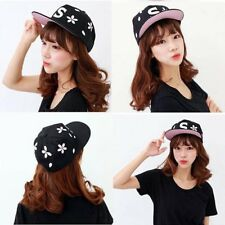 2016 Women Flower Embroidery Letter Adjustable Baseball Cap Fashion Casquette