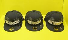 NFL SAN FRANCISCO 49ers SKYLINE Gray Flex Hat / Cap in by New Era 59Fifty - NEW