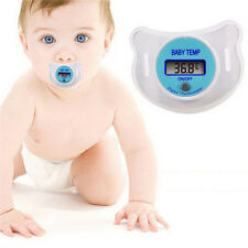 Infants LED Pacifier Thermometer Baby Health Safety Temperature Monitor Kids LL