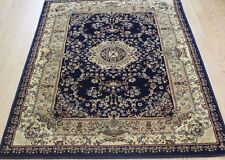Easycare Rug  Traditional Persian Oriental Design BLUE  XS-XXL Large NOW ON SALE