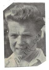 SHEFFIELD WEDNESDAY - ALBERT QUIXALL SIGNED / MANCHESTER UNITED / ENGLAND