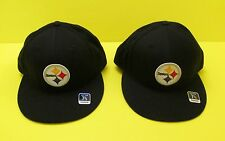 NFL Pittsburgh STEELERS Fitted Flex Hat / Cap by Reebok (Choose Size) - NEW