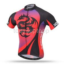 Men's Sport Cycling Jersey Breathable Short Sleeve Clothing Bicycle Wear Suit