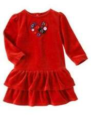 NWT Gymboree 2014 Winter Penguin Ribbon Fleece Dress 3-6 6-12 12-18 18-24 2T