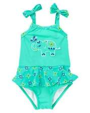 NWT Gymboree Girls Safari Smiles Elephant Swimsuit Size 6-12 M 12-18 M & 18-24 M