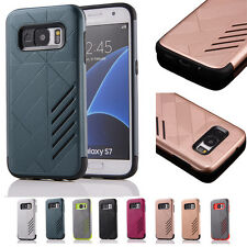 Fashion Shockproof Hybrid Rubber Heavy Duty Protective Case Cover For Samsung