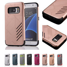 Luxury Hybrid Rubber Heavy Duty Shockproof Protective Case Cover For Phones