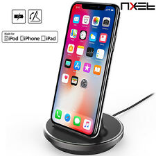 MFi Lighting Charger Charging Sync Cradle Desktop Dock Station for iPhone X