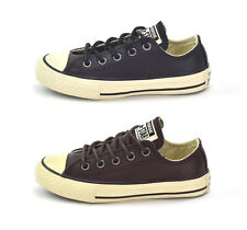 CONVERSE CT OX LEATHER -  YOUTHS TRAINERS - SIZES UK 10 to UK 5 - BRAND NEW