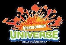 FOUR (4) All Day Wristbands Nickelodeon Universe Mall of America $167.00 VALUE+