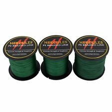 Hercules 100M-2000M 6lb-300lb Spectra Green PE Dyneema Strong Braid Fishing Line
