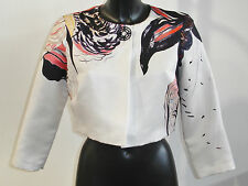 D EXTERIOR  FLOWERS  CROPPED JACKET UK 8 BNWT