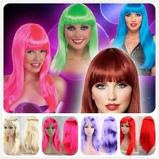 Fast Ship Curly Straight Costume Wig American Party Cosplay Full Head Wigs Long