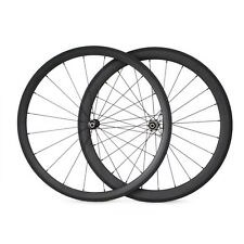 25mm Width Straight Pull Bike Cycling 38mm+50mm Clincher Carbon Wheels Wheelset