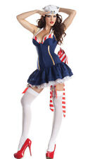 Party King Pin Up Sailor Navy Body Shaper Dress Costume PK175