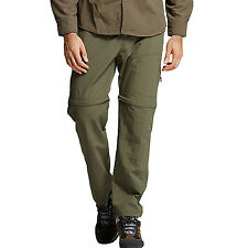 Men Detachable Pocket Trousers Pants Cargo Outdoor Camping Hiking Quick Dry New