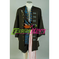 Pirates Of The Caribbean 4 Cosplay Costume Jack Sparrow Costume Cosplay Outfit