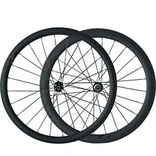 38mm+50mm Clincher Carbon Wheels 700C Disc Brake Road Bike Cyclocross Wheelset