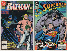LOT VF- (16) VINTAGE DC COMICS BATMAN SUPER POWERS SUPERMAN JLA Legends Aquaman