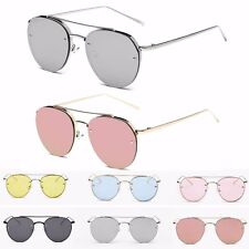 Women's Fashion Gold Retro Cat Eye Sunglasses Oversized Designer Vintage Shades
