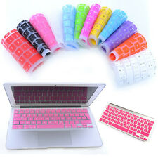For Macbook Pro Retina Air 13 15 Solid Silicone Keyboard Protector Cover Skin EU